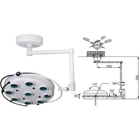 Операционная лампа холодного свечения 02-9