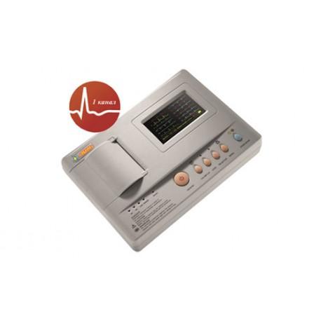 1201G - одноканальный цифровой электрокардиограф