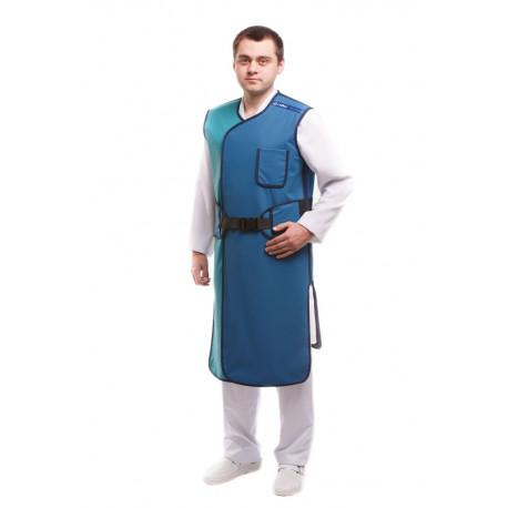 Халат с текстильной застежкой без рукавов 60х90