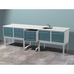 Комплект мебели на высоких опорах TS01
