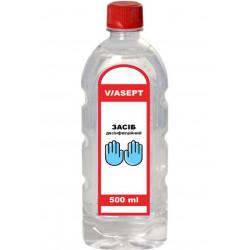Средство дезинфицирующее и антисептическое «VIASEPT» (ВИАСЕПТ) 500 мл ПЭТ